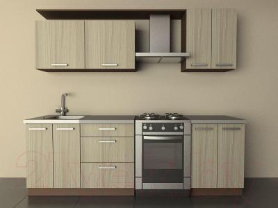 Готовая кухня Лавесон К.001.18 (дрифтвуд)