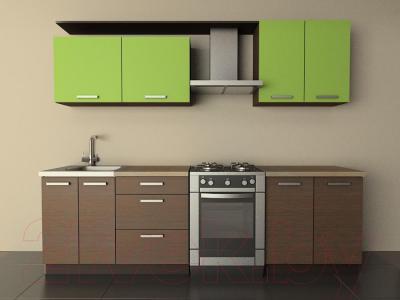 Готовая кухня Лавесон К.001.20 (лайм)