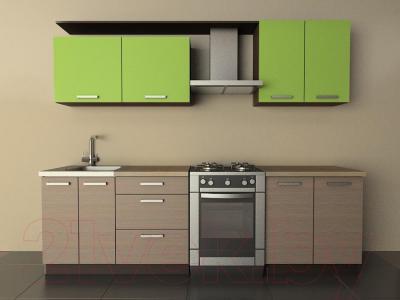 Готовая кухня Лавесон К.001.20 (лайм-лайт)