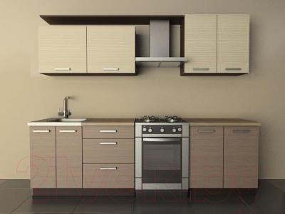 Готовая кухня Лавесон К.001.20 (вудлайнер кремовый-лайт)