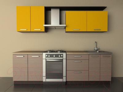 Готовая кухня Лавесон К.001.20 (желтый бриллиант-лайт)