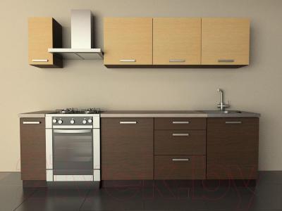 Готовая кухня Лавесон К.001.21 (шоколад)
