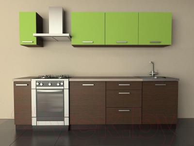 Готовая кухня Лавесон К.001.21 (лайм)