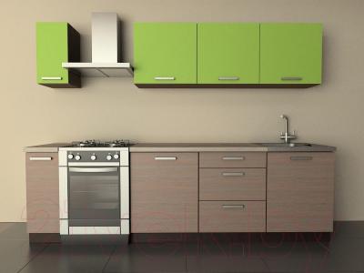 Готовая кухня Лавесон К.001.21 (лайм-лайт)