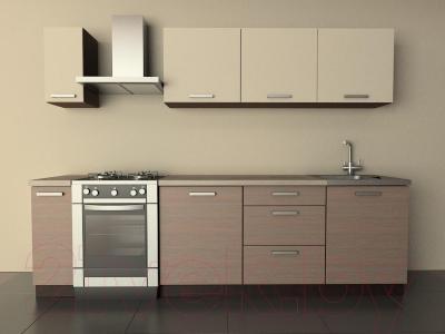 Готовая кухня Лавесон К.001.21 (бежевый песок-лайт)