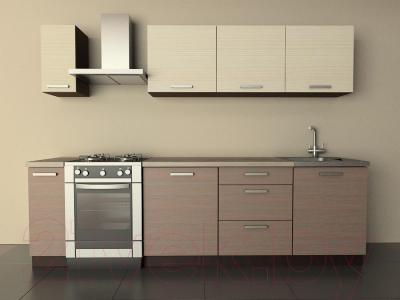 Готовая кухня Лавесон К.001.21 (вудлайнер кремовый-лайт)