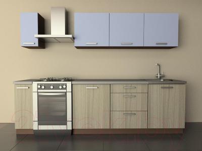 Готовая кухня Лавесон К.001.21 (голубой лёд-дрифт)