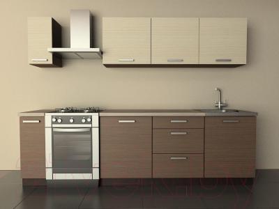 Готовая кухня Лавесон К.001.21 (мокко)