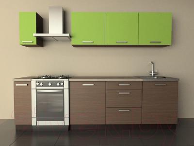 Готовая кухня Лавесон К.001.21 (лайм-мокко)
