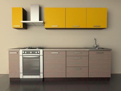 Готовая кухня Лавесон К.001.21 (желтый бриллиант-лайт)