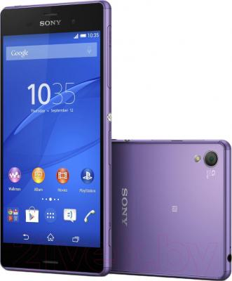 Смартфон Sony Xperia Z3 / D6603 (фиолетовый)