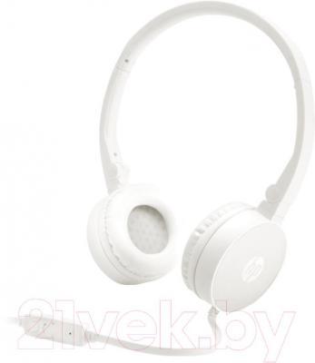Наушники-гарнитура HP Stereo Headset H2800 (белый) - общий вид