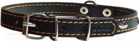 Ошейник Collar 0101 (черный,с украшением) - общий вид