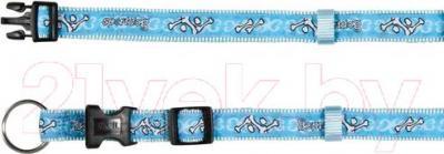 Ошейник Trixie Modern Art Collar Sportdog 15977 (L-XL, голубой) - общий вид