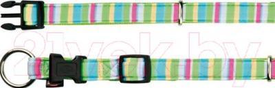 Ошейник Trixie Impression Collar Stripes 16109 (S-М, разноцветный) - общий вид