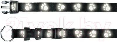 Ошейник Trixie 1333 (L-XL, черный) - общий вид