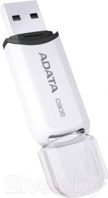 Usb flash накопитель A-data C906 8 Gb White (AC906-8G-RWH) - общий вид