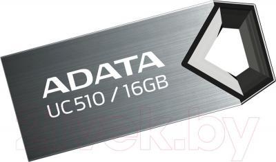 Usb flash накопитель A-data DashDrive Choice UC510 Titanium 16GB (AUC510-16G-RTI) - общий вид