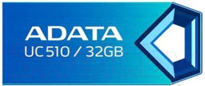 Usb flash накопитель A-data DashDrive Choice UC510 Blue 32GB (AUC510-32G-RBL) - общий вид