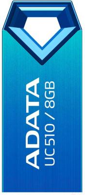 Usb flash накопитель A-data DashDrive Choice UC510 Blue 8GB (AUC510-8G-RBL) - общий вид