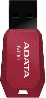 Usb flash накопитель A-data DashDrive UV100 16Gb (AUV100-16G-RRD) - общий вид