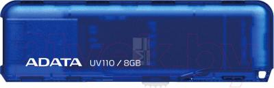 Usb flash накопитель A-data DashDrive UV110 Blue 8GB (AUV110-8G-RBL) - общий вид