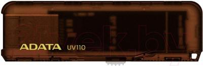 Usb flash накопитель A-data DashDrive UV110 8Gb Brown (AUV110-8G-RBR) - общий вид