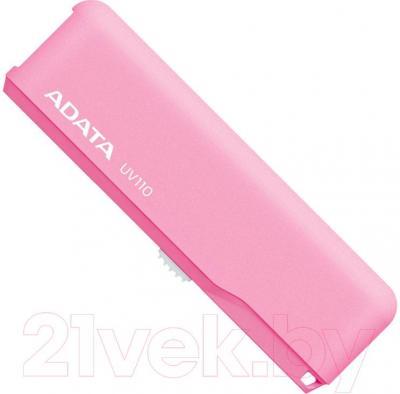 Usb flash накопитель A-data DashDrive UV110 Pink 8GB (AUV110-8G-RPK) - общий вид