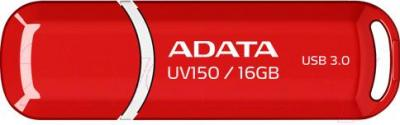 Usb flash накопитель A-data DashDrive UV150 Red 16GB (AUV150-16G-RRD) - общий вид
