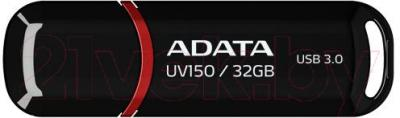 Usb flash накопитель A-data DashDrive UV150 Black 32GB (AUV150-32G-RBK) - общий вид