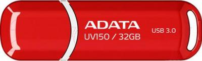 Usb flash накопитель A-data DashDrive UV150 Red 32GB (AUV150-32G-RRD) - общий вид