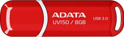 Usb flash накопитель A-data DashDrive UV150 Red 8GB (AUV150-8G-RRD) - общий вид