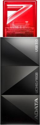 Usb flash накопитель A-data Choice UC340 Red 16GB (AUC340-16G-RRD) - общий вид