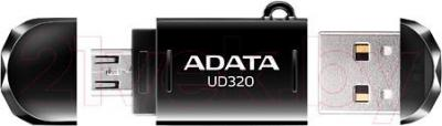 Usb flash накопитель A-data DashDrive Durable UD320 16GB (AUD320-16G-CBK) - общий вид