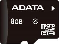 Карта памяти A-data microSDHC (Class 4) 8GB (AUSDH8GCL4-R) -
