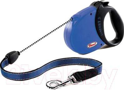 Поводок-рулетка Collar Comfort Basic 21342 (M, синий) - общий вид