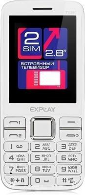 Мобильный телефон Explay TV280 (белый)