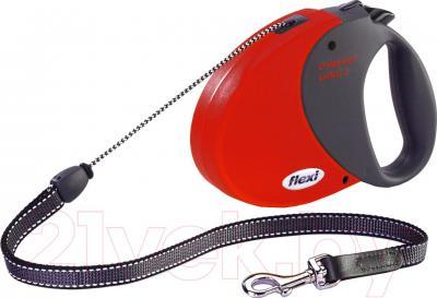 Поводок-рулетка Flexi Comfort Long 21273 (M, красный) - общий вид
