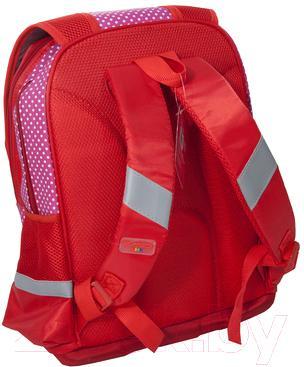 Школьный рюкзак Paso 14-048C - вид сзади