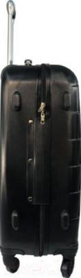 Чемодан на колесах Paso 19-939A - вид сбоку