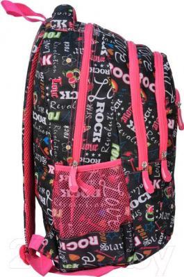 Рюкзак городской Paso 14-381A - вид сбоку