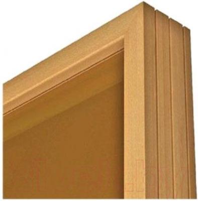 Стеклянная дверь для бани/сауны Aldo 790х2090 (стекло бронзовое матовое) - коробка