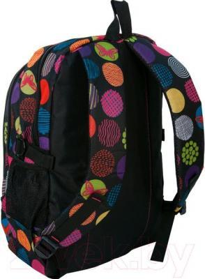 Рюкзак городской Paso 15-1827B - вид сзади