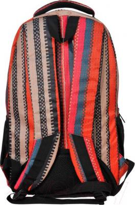 Рюкзак городской Paso 15-8122D - вид сзади