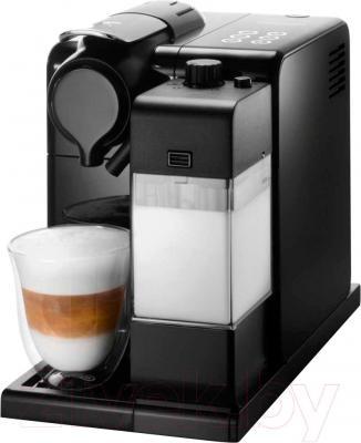 Капсульная кофеварка DeLonghi Lattissima + EN 550.B
