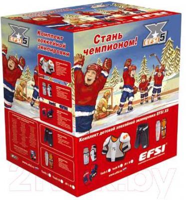 Комплект хоккейной экипировки ЭФСИ X5 (JRM) - упаковка