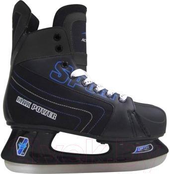Коньки хоккейные Action PW-216CX (размер 44) - вид сбоку одного конька