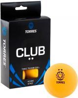 Мячи для настольного тенниса Torres Club TT0013 (оранжевый) -