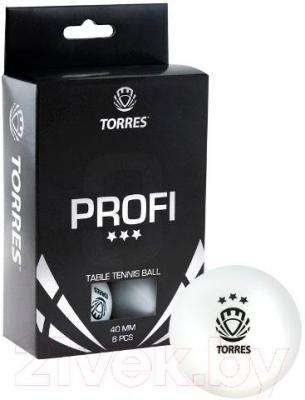 Мячи для настольного тенниса Torres Profi TT0012 (белый) - общий вид