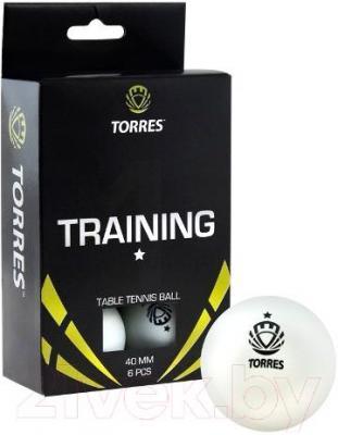 Мячи для настольного тенниса Torres Training TT0016 (белый) - общий вид